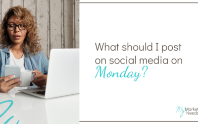 What Should I Post on Social Media on Monday?